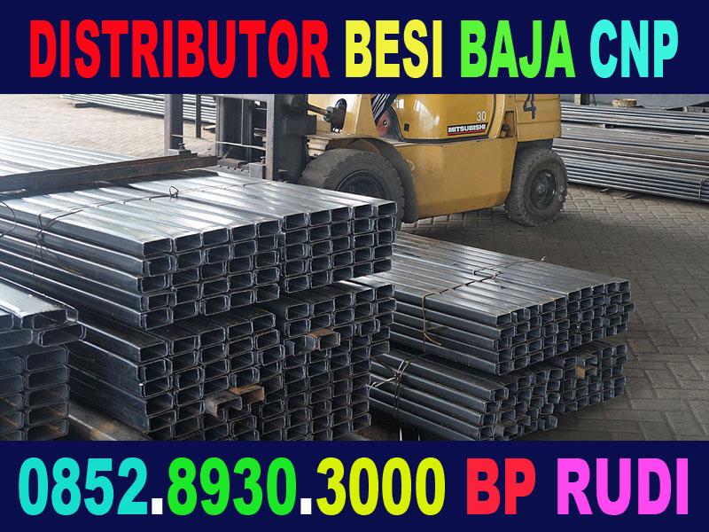 distributor besi cnp baja cnp kanal cnp surabaya murah sni berkualitas2 Jual Besi Baja CNP untuk Atap Gudang di Surabaya 0852.8930.3000